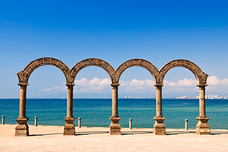 Arches in Puerto Vallarta